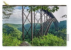 Beneath New River Gorge Bridge Carry-all Pouch