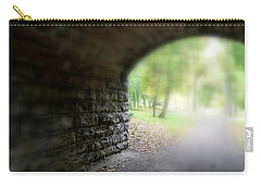 Carry-all Pouch featuring the photograph Beneath The Bridge by Richard Ricci