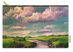 Beneath The Clouds Of Paradise Carry-all Pouch