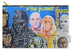 Beneath The Planet Of The Apes - 1970 Lobby Card That Never Was Carry-all Pouch
