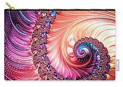 Beneath The Sea Spiral Carry-all Pouch