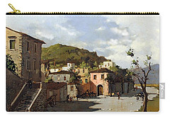 Provincia Di Benevento-italy Small Town The Road Home Carry-all Pouch