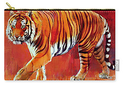 Tiger Carry-All Pouches