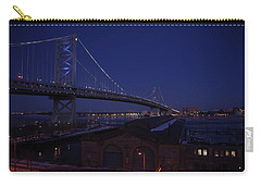 Benjamin Franklin Bridge Carry-all Pouch