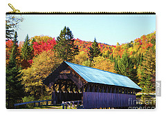 Bennett Covered Bridge In Fall Carry-all Pouch