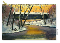 Carry-all Pouch featuring the painting Bennett by Gail Kirtz