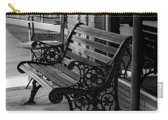 Carry-all Pouch featuring the photograph Bent Oaks Boutique by Ester Rogers