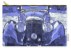Bentley Blue Pop Art P2 Carry-all Pouch