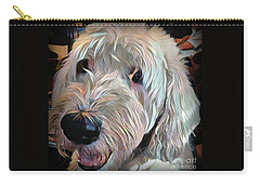 Carry-all Pouch featuring the photograph Bentley by Jodie Marie Anne Richardson Traugott          aka jm-ART