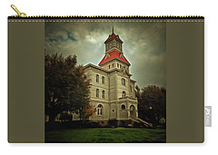 Benton County Courthouse Carry-all Pouch by Thom Zehrfeld