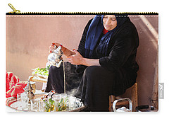 Carry-all Pouch featuring the photograph Berber Woman by Andrew Fare