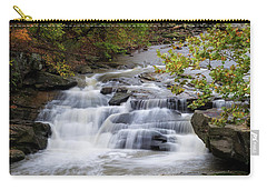 Carry-all Pouch featuring the photograph Berea Falls by Dale Kincaid