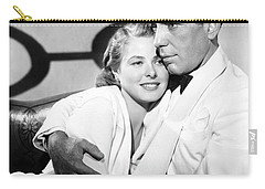 Bergman And Bogart 1942 Carry-all Pouch
