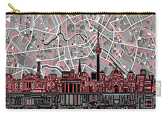 Berlin City Skyline Abstract Carry-all Pouch