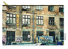 Berlin House Wall With Graffiti  Carry-all Pouch