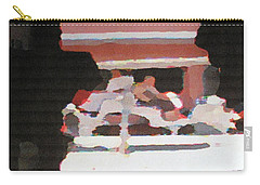 Carry-all Pouch featuring the photograph Bermuda Carriage Impressions by Ian  MacDonald