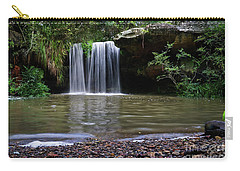 Carry-all Pouch featuring the photograph Berowra Waterfall by Werner Padarin