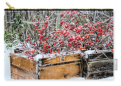 Berries And Ice  Carry-all Pouch