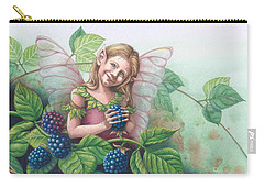 Blackberry Fairie Carry-all Pouch