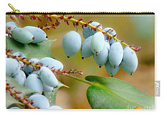 Carry-all Pouch featuring the photograph Berrylicious  by Rand Herron