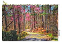 Carry-all Pouch featuring the photograph Berry's Back Road by Geraldine DeBoer