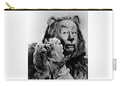 Bert Lahr As The Cowardly Lion In The Wizard Of Oz Carry-all Pouch