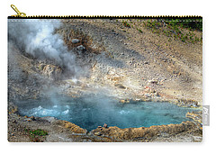 Beryl Hot Springs, Ynp Carry-all Pouch by Greg Sigrist