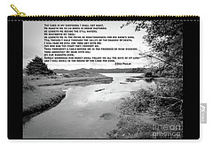 Beside Still Waters Carry-all Pouch by Methune Hively