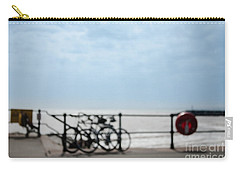 Carry-all Pouch featuring the photograph Beside The Seaside #6 by Jan Bickerton