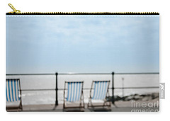 Carry-all Pouch featuring the photograph Beside The Seaside#5 by Jan Bickerton