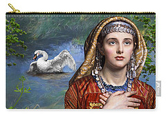Beside The Swan Carry-all Pouch