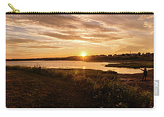 Carry-all Pouch featuring the photograph Besides North Rustico Harbor by Chris Bordeleau