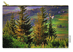 Carry-all Pouch featuring the photograph Beskidy Mountains by Mariola Bitner