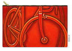 Bespoked In Orange  Carry-all Pouch by Mark Jones