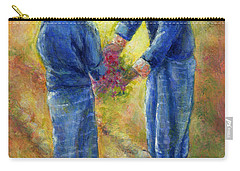 Best Friends Carry-all Pouch by Retta Stephenson