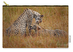 Best Of Friends Carry-all Pouch by Nichola Denny