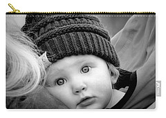Carry-all Pouch featuring the photograph Best Seat In The House by Barbara Dudley