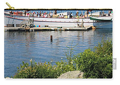 Best Seats In Bar Harbor Maine Carry-all Pouch by Living Color Photography Lorraine Lynch