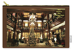 Best Western Plus Windsor Hotel Lobby - Christmas Carry-all Pouch