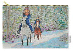 Beth And Nancy  Carry-all Pouch