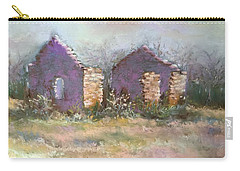 Bethel School At Sunset Carry-all Pouch by Rebecca Matthews