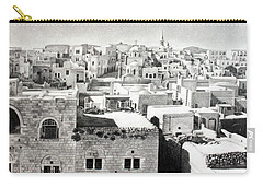 Bethlehem Old Town Carry-all Pouch by Munir Alawi
