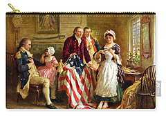 Betsy Ross And General George Washington Carry-all Pouch by War Is Hell Store