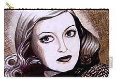 Bette Davis 1941 Carry-all Pouch