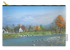 Carry-all Pouch featuring the painting Better Days by Mike Brown