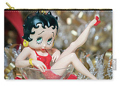 Betty Boop Merry Christmas Card Carry-all Pouch