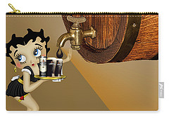 Betty Boop Serving Murphys Carry-all Pouch