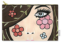 Betty Carry-all Pouch by Kathleen Sartoris