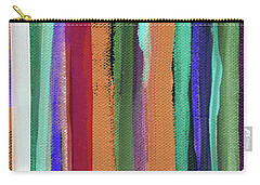 Between Seasons- Art By Linda Woods Carry-all Pouch