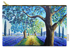 Between The Lavender Fields Carry-all Pouch